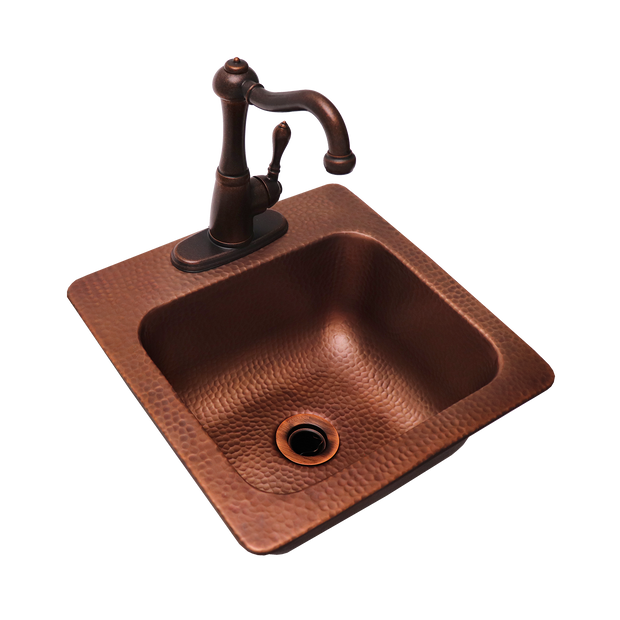 RCS Grills - Copper Sink - RSNK3 4