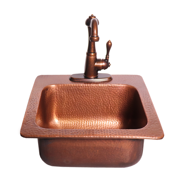 RCS Grills - Copper Sink - RSNK3 6