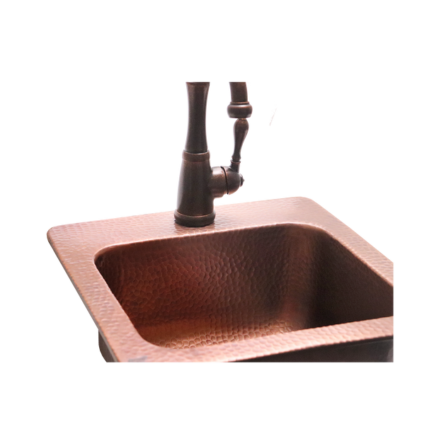 RCS Grills - Copper Sink - RSNK3 5