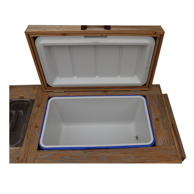 Haggards Rustic Super Duper Cooler with 2 Engraved Lines