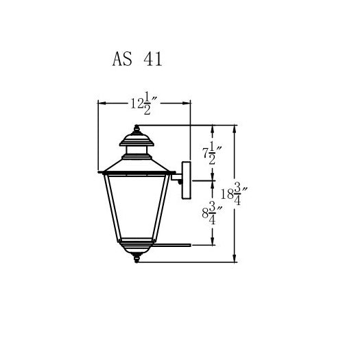 Electric Gas Light - Adams Street 41 - AS41E _ 2