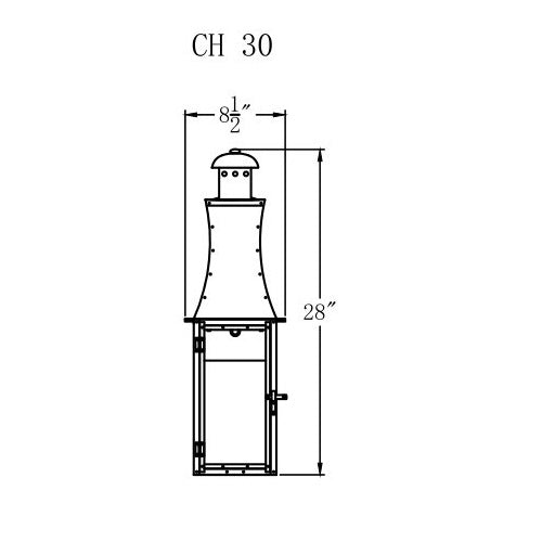 Electric Gas Light - Churchill 30 - CH30E _ 2