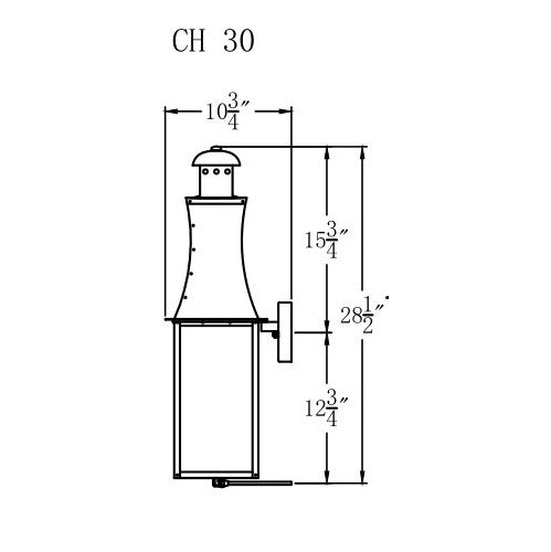 Electric Gas Light - Churchill 30 - CH30E _ 3