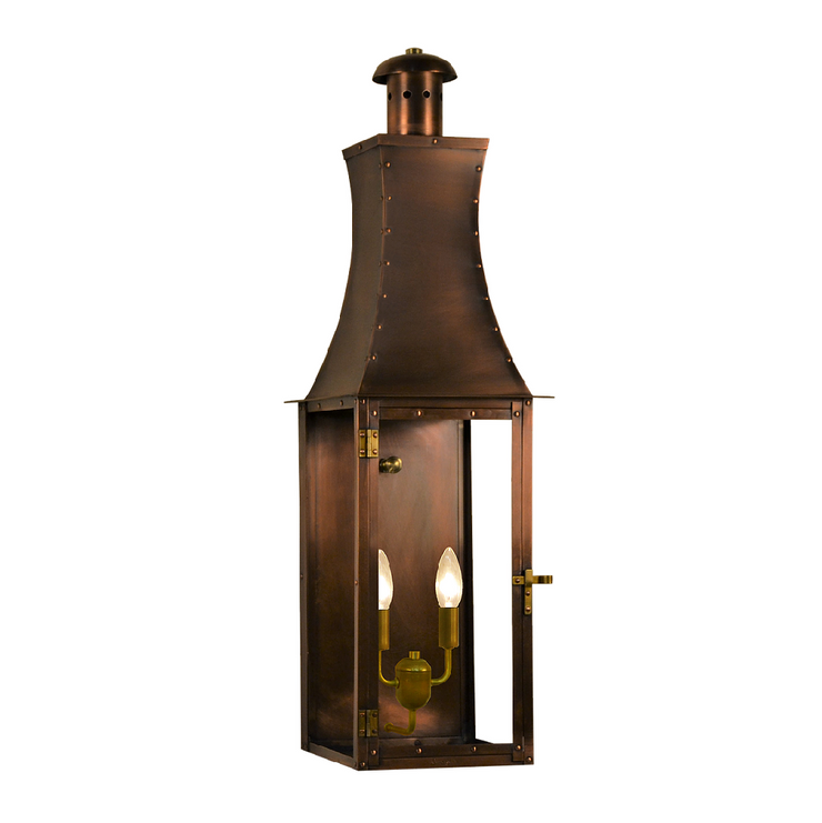 Electric Gas Light - Churchill Flush 30 - FCH30E _ 1
