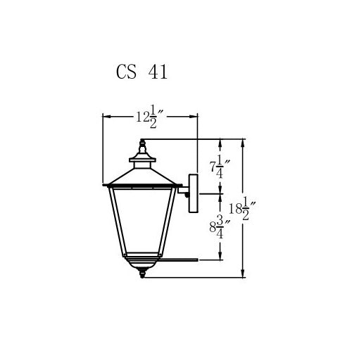 Electric Gas Light - Conception Street 41 - CS41E _ 3