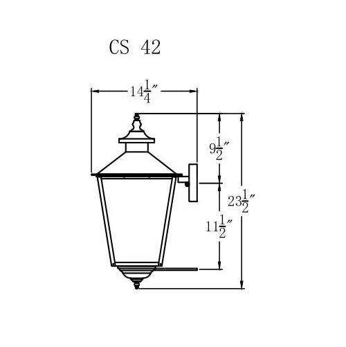 Electric Gas Light - Conception Street 42 - CS42E _ 3