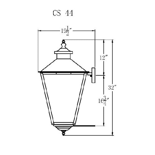Electric Gas Light - Conception Street 44 - CS44E _ 3
