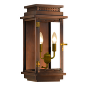 Electric Gas Light - Contempo Flush 18 - FCO18E _ 1