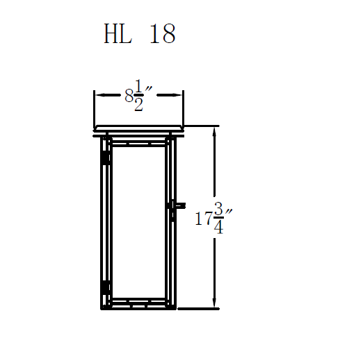 Electric Gas Light - Hyland 18 - HL18E _ 2