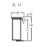 Electric Gas Light - Hyland 18 - HL18E _ 3