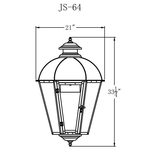 Electric Gas Light - Joachim Street 64 - JS64E _ 2