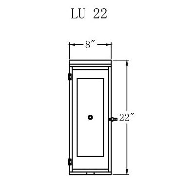 Electric Gas Light - Luna 22 - LU22E _ 2