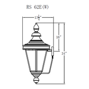 Electric Gas Light - Royal Street 62 - RS62E _ 3