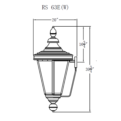 Electric Gas Light - Royal Street 63 - RS63E _ 3