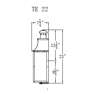 Electric Gas Light - Terra 22 - TE22E _ 3