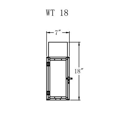 Electric Gas Light - Whitney 18 - WT18E _ 2