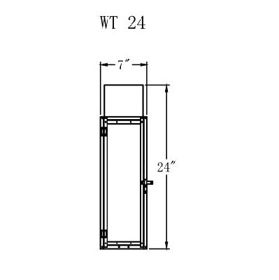 Electric Gas Light - Whitney 24 - WT24E _ 2