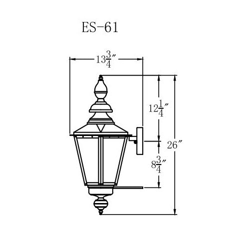 Electric Gas Light - Eslava Street 61 - ES61E _ 3