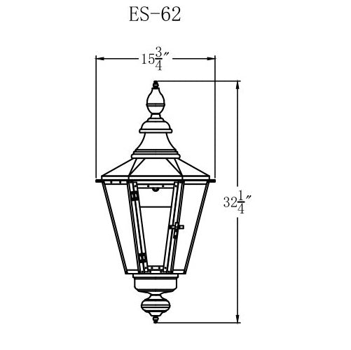 Electric Gas Light - Eslava Street 62 - ES62E _ 2