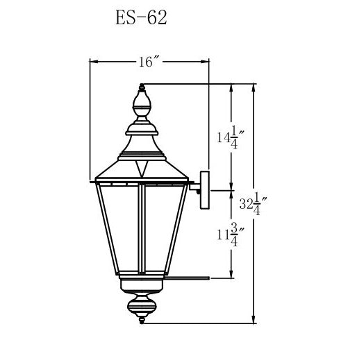Electric Gas Light - Eslava Street 62 - ES62E _ 3