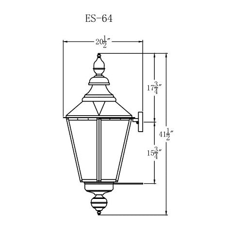 Electric Gas Light - Eslava Street 64 - ES64E _ 3