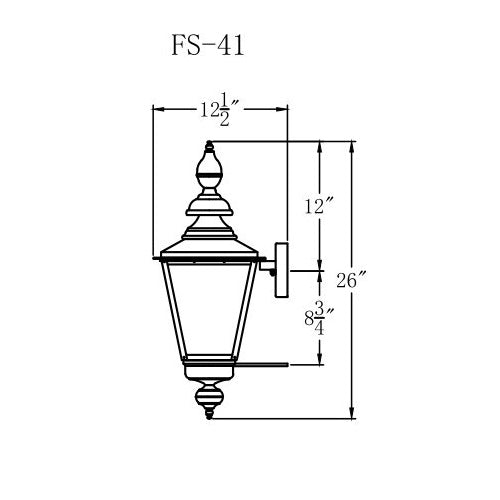 Electric Gas Light - Franklin Street 41 - FS41E _ 3