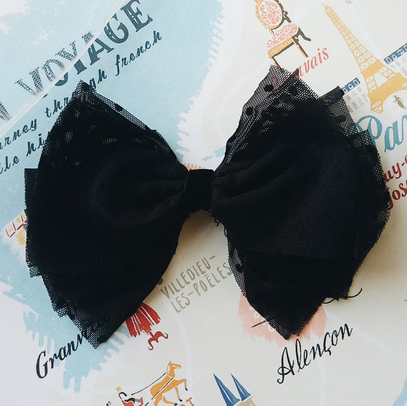 Oui Tulle Bow