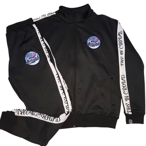 "The In Crowd's Women's Black ""Swaggy"" Tracksuit"