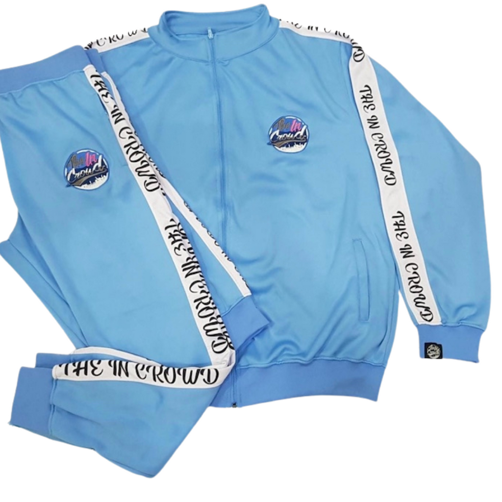 "The In Crowd's Baby Blue ""Swaggy"" Tracksuit"