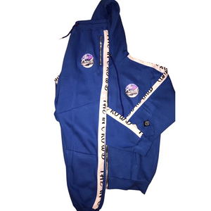 "The In Crowd ""swaggy"" full blue sweatsuit"