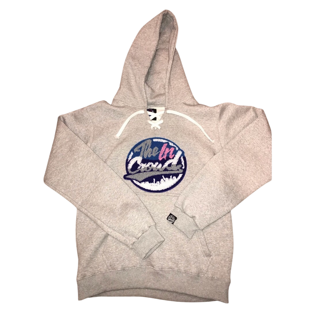 "The in crowd ""hockey style"" hoody grey"
