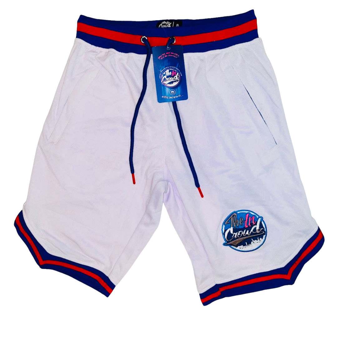 "White Red & Blue ""Unstoppable"" Shorts"