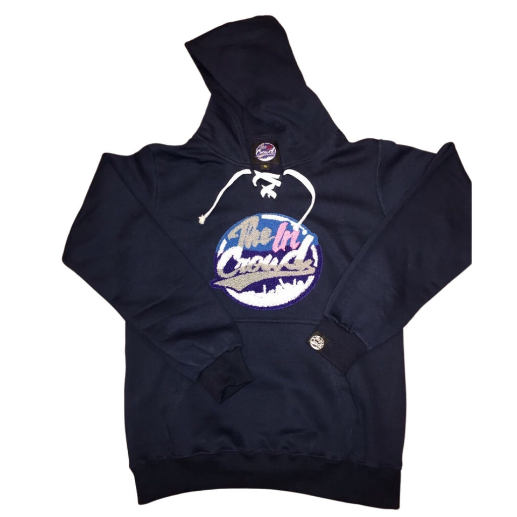 "The in crowd ""hockey style"" hoody navy"