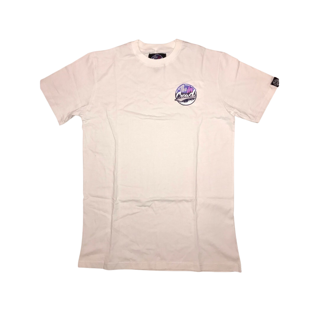 "The In Crowd "" classic "" white T - SHIRT"