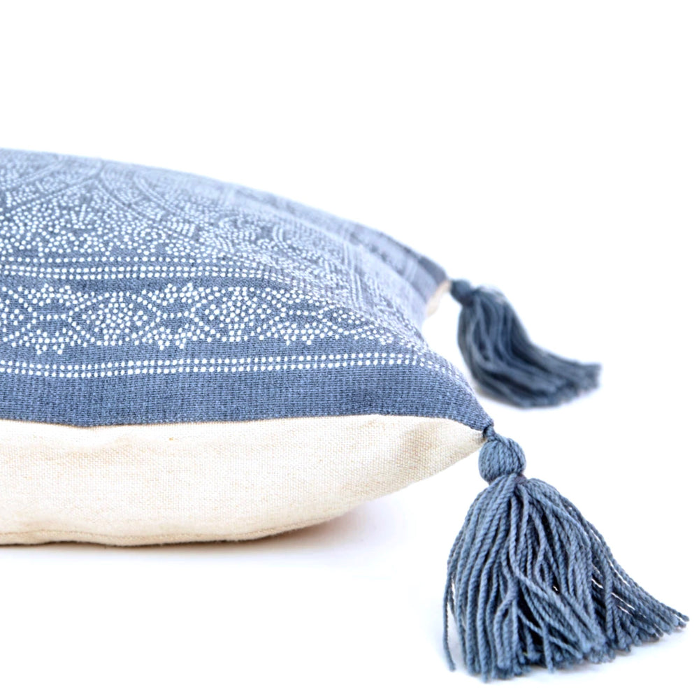 Weaver Green Kas Navy Cushion
