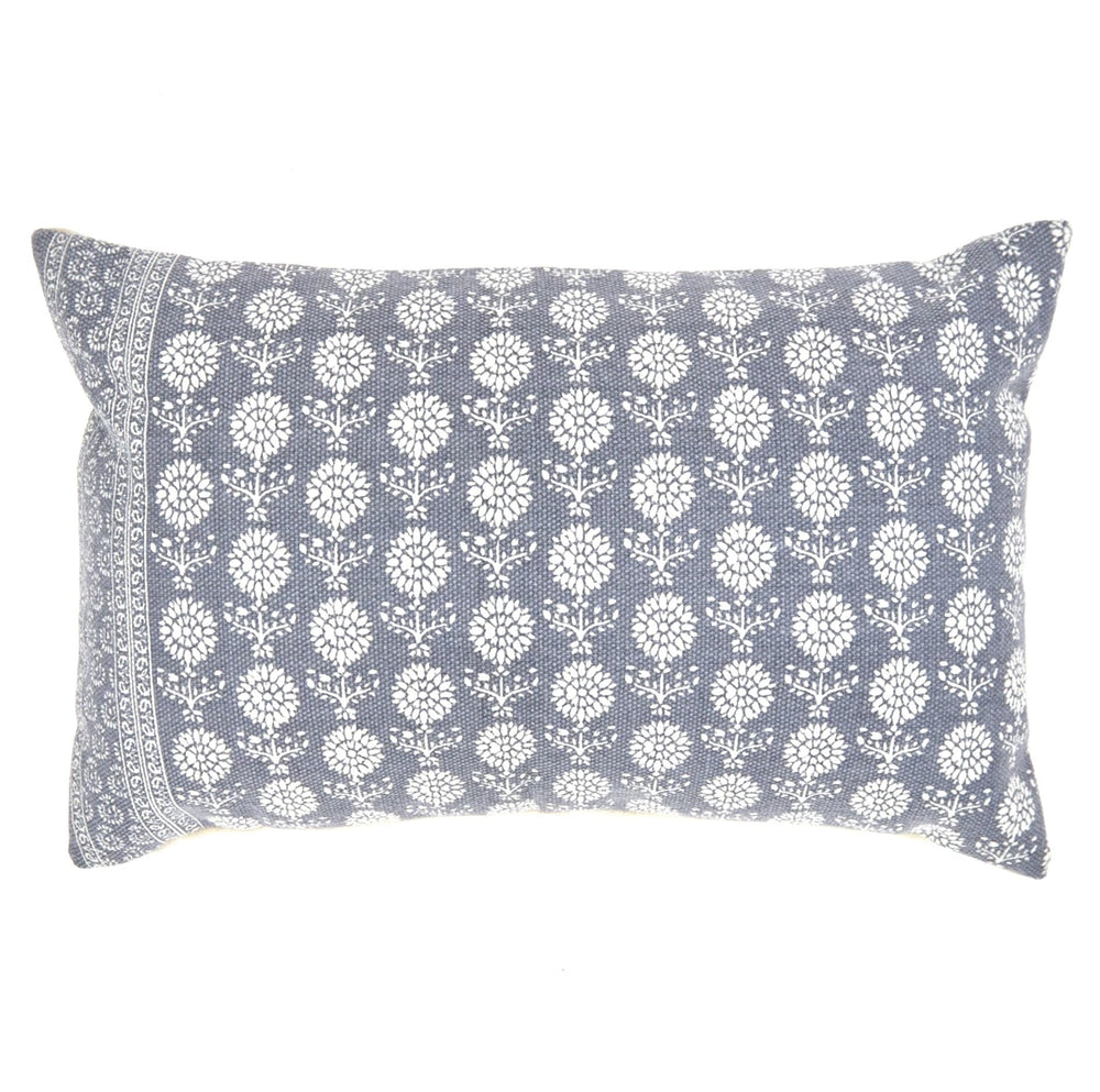 WEAVER GREEN JAIPUR MARIGOLD NAVY CUSHION