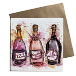 Fizz Dollyhotdogs Greeting Card