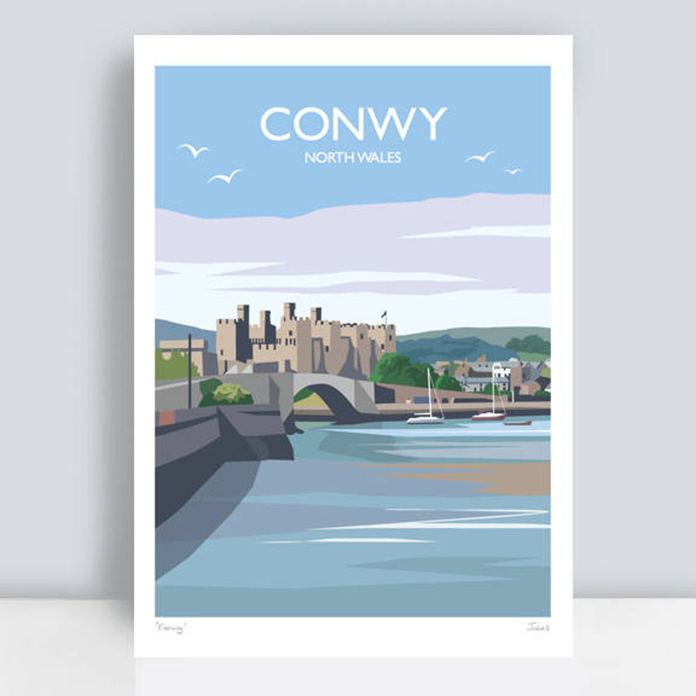 Conwy Travel Art Print