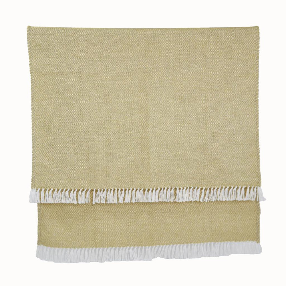 Weaver Green Diamond Blankets