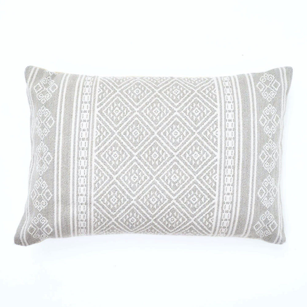 WEAVER GREEN KALKAN CHINCHILLA CUSHION
