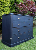 PAINTED ANTIQUE DRAWERS