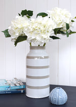 Sand Stripe Ceramic Vase