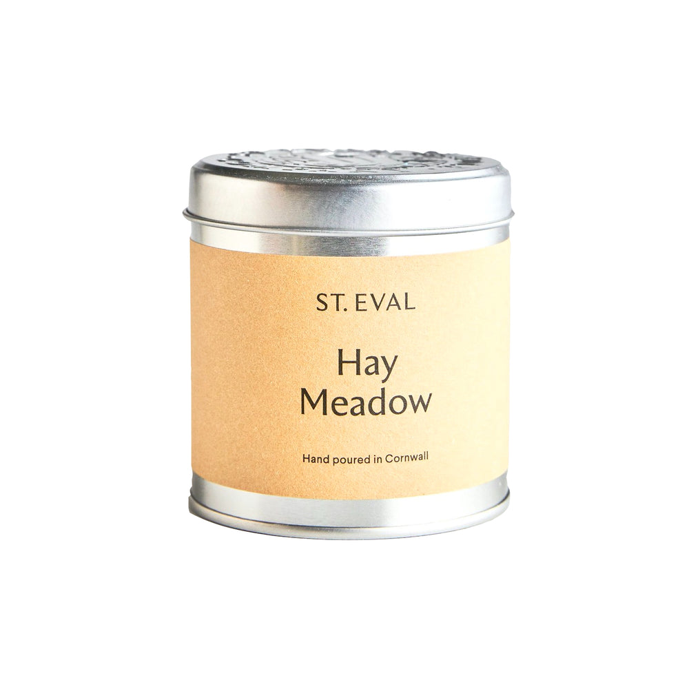 ST EVAL HAY MEADOW SCENTED TIN CANDLE