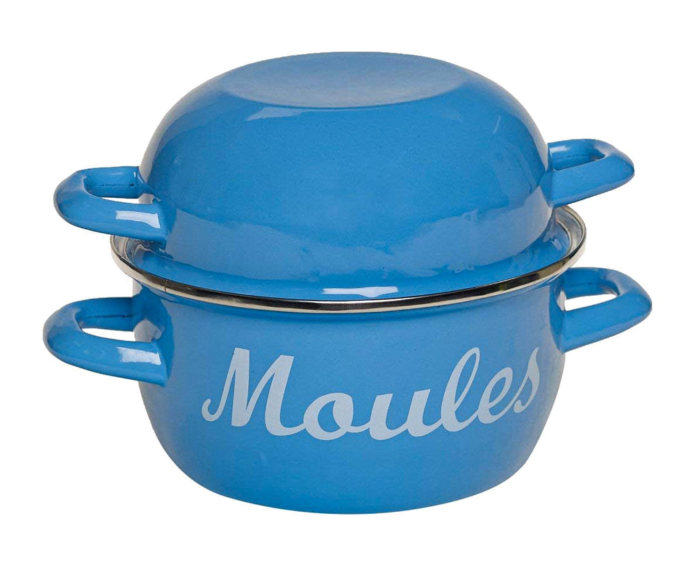 MUSSEL POT - BLUE