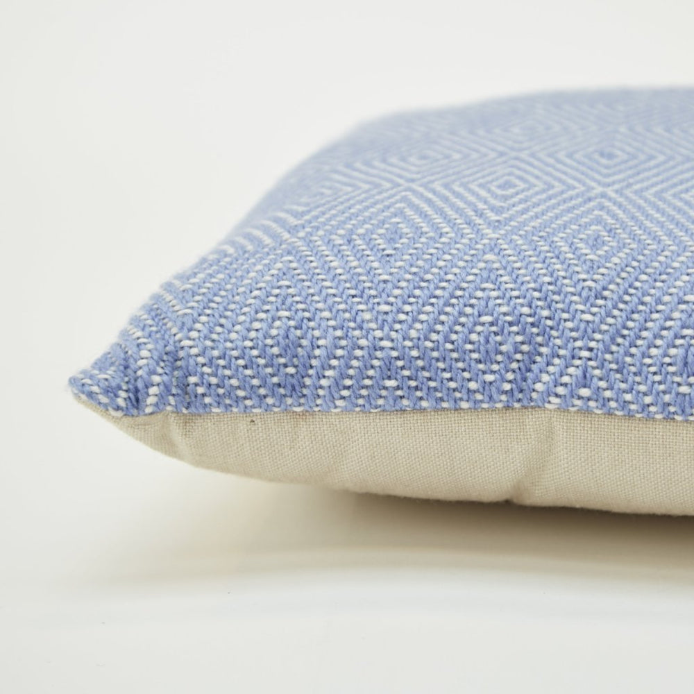 WEAVER GREEN COBALT DIAMOND CUSHION