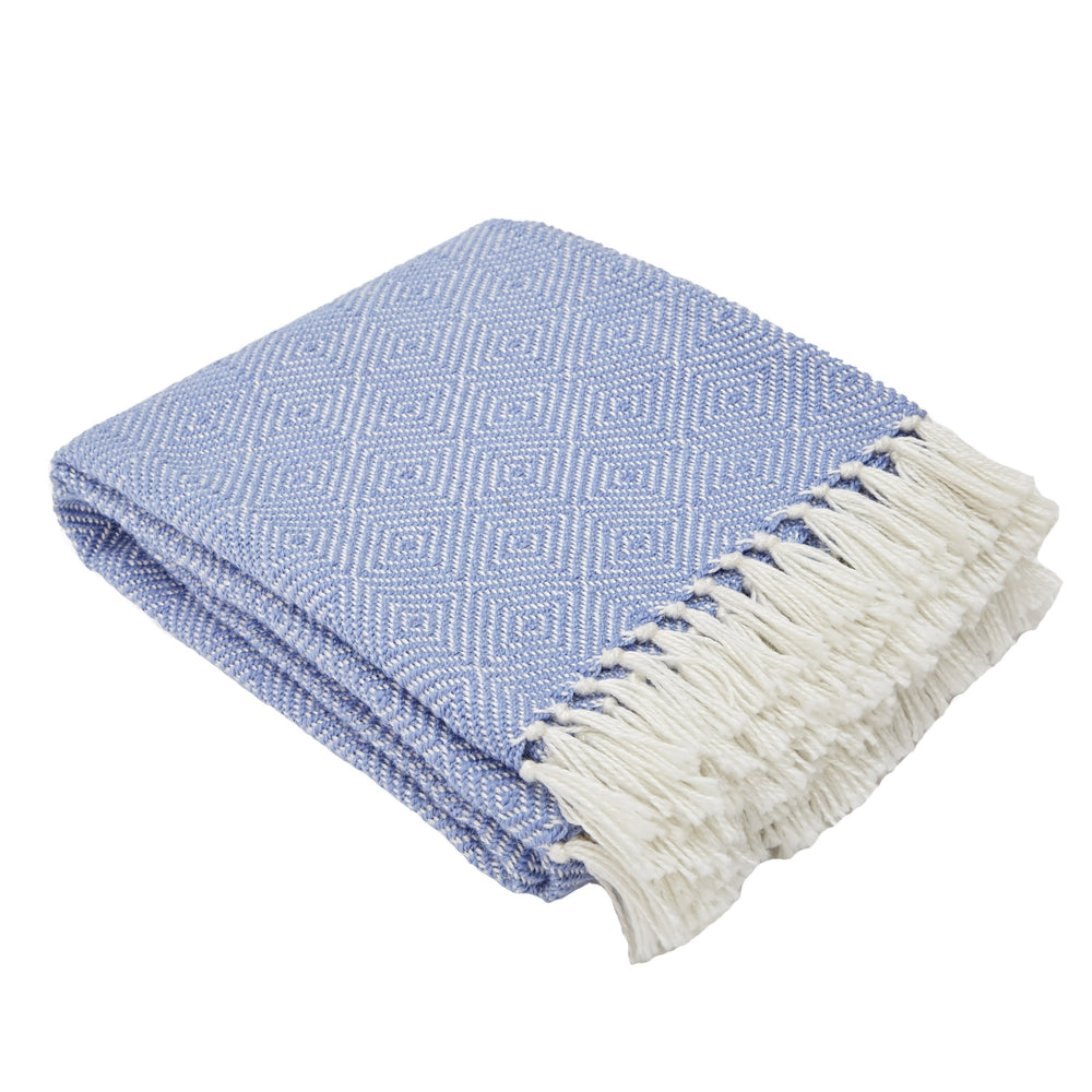 Weaver Green Cobalt Blanket
