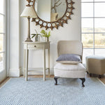 WEAVER GREEN OSLO DOVE GREY FLOOR RUG