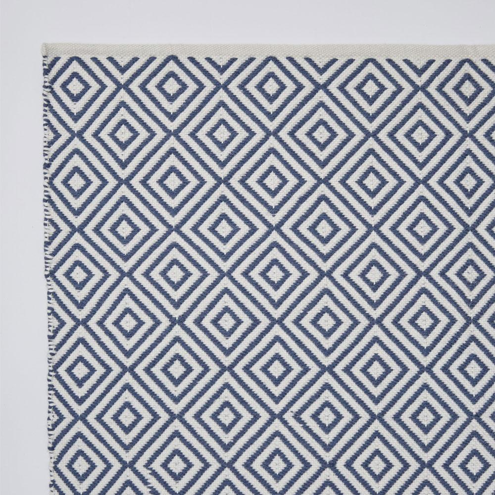 Weaver Green Navy Oslo Rug
