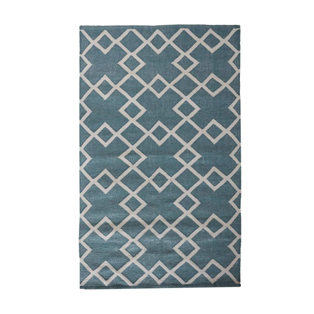 Weaver Green Teal Juno Floor Rug