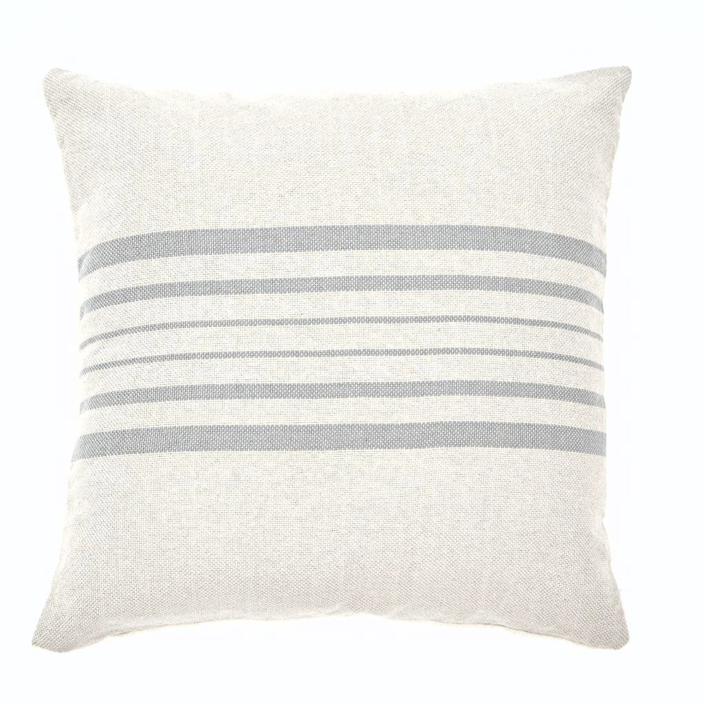 ANTIBES LINEN & DOVE GREY CUSHION